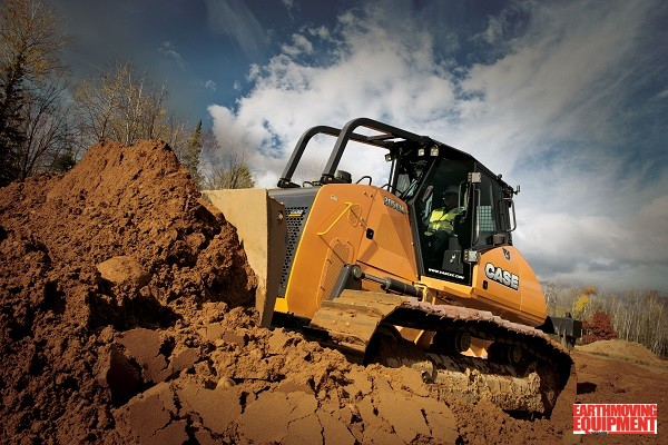 Case Crawler Dozers In Australia - Milne Bros