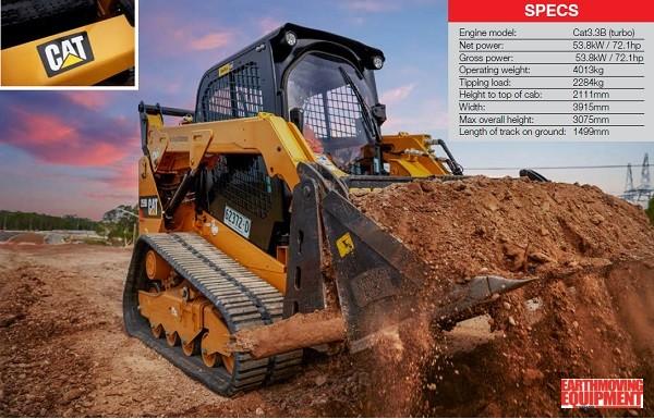 CAT® 259D Compact Track Loader | Earthmoving Equipment Magazine