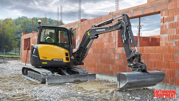 CJD Launches New Volvo Compact Excavators   Earthmoving