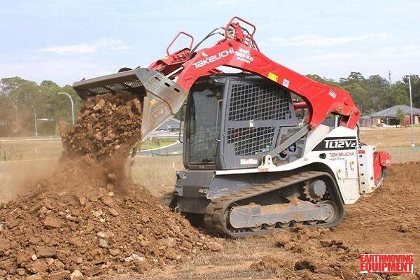 TAKEUCHI® TL12V2 Speeds Site Preparation | Earthmoving